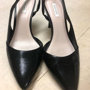 Cole Haan Shoes - Cole Haan black leather slingback
